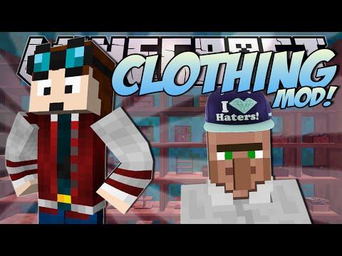 Minecraft | CLOTHES MOD! (Fabulous Fashion Creation!) | Mod Showcase