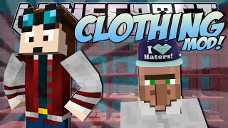 Minecraft | CLOTHES MOD! (Fabulous Fashion Creation!) | Mod Showcase