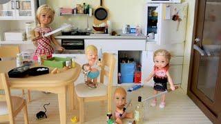 Куклы барби живые