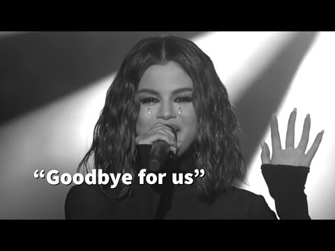 Selena Gomez Singing Lose you to love me | AMA's 2019 Live