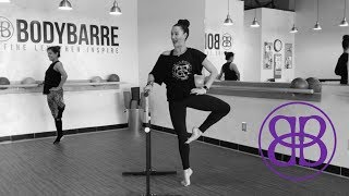TONING CARDIO HIIT Barre Workout with Paige!! by BODYBARRE
