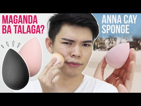 MAGANDA BA TALAGA?!!! ANNA CAY SPONGE REVIEW | ALL COVERED AIR BLENDER BY ANNA CAY | Kenny Manalad