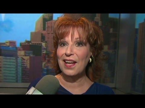 Joy Behar tapes her last show on