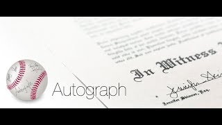 Autograph Signature App for Mac