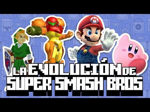 La Evolución de Super Smash Bros.