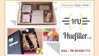 Paper Filler | Gift Filler Paper | Decorate Gift Box | Huefiller - YouTube