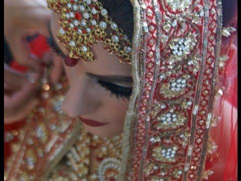 Video Pakistani Indian Bridal Make-Up