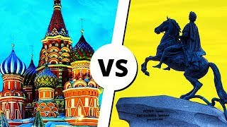МОСКВА vs ПИТЕР