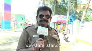 Sri Renganathan at Athiradi Movie Shooting Spot