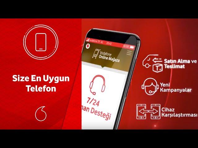 Vodafone Online Mağaza'da size en uygun telefonu nasıl seçersiniz?