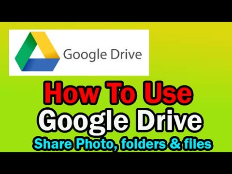 Download How To Use Google Drive To Share Files Photos And Folders