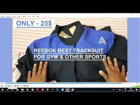 reebok tracksuit flipkart