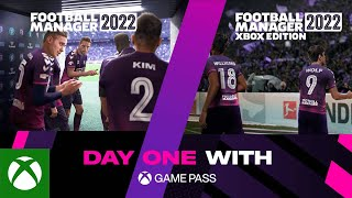 Xbox Football Manager 2022 | Day One with Xbox Game Pass anuncio