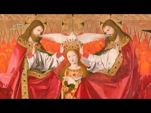 Le Couronnement de la Vierge d'Enguerrand Quarton