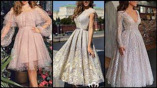 Short Homecoming Dresses/Princess Lace Long Sleeve Prom Dresses