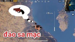 PUBG Mobile - Thử Ra Đảo Sa Mạc Tìm Flare Gun Và Kết Quả | Vẫn Combo MK14 + AWM :v