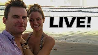 At The Miami Boat Show... Live