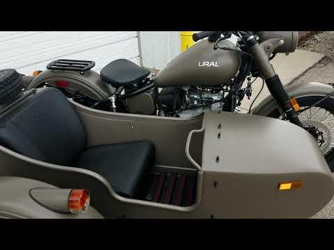 2018 Ural Sidecar Motorcycle M70