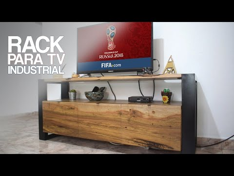MUEBLE (RACK) PARA TV, MUNDIAL RUSSIA 2018 - PROYECTO MUEBLE