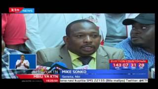 Mbiu ya KTN:Mike Sonko awasilisha stakabadhi zake za ugombeaji