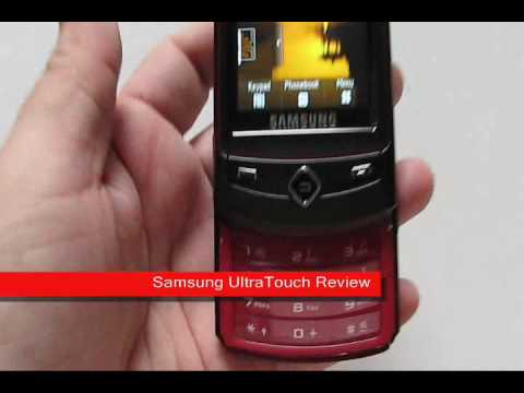Samsung S8300 Ultra Touch Video Review