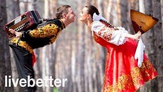 Música rusa tradicional instrumental tipica antigua para bailar