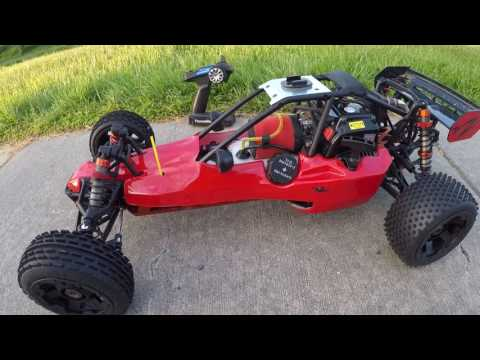 1/5 Scale Remote Control Buggy For $400! Rovan HPI Clone