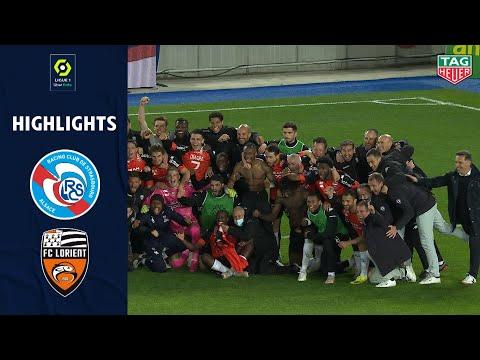 Racing Club de Strasbourg Alsace 1-1 FC Lorient Br...