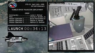 [Orbiter] STS 31: Hubble Space Telescope Deployment (HST)