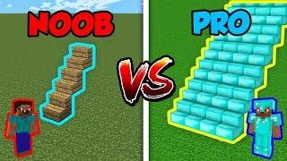 Minecraft NOOB vs. PRO: STAIRCASE in Minecraft!
