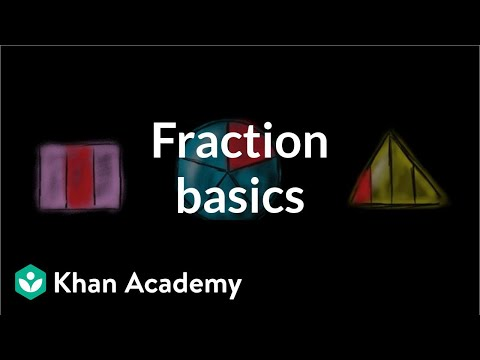 Intro to fractions (video) | Fractions | Khan Academy