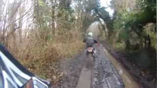 preview picture of video 'Bulford - Old Drove Road (Byway, W-E)'