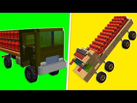 Noob VS. Pro Explosive Egg Challenge- Scrap Mechanic   JeromeACE