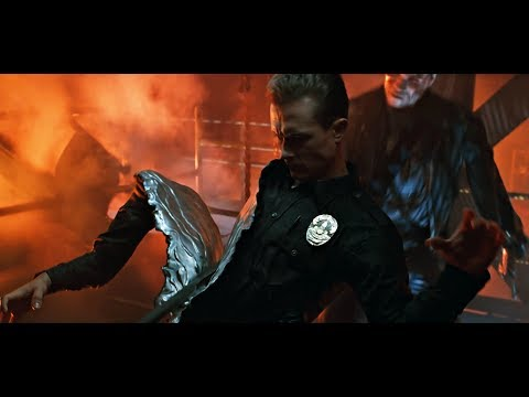 Terminator 2: Final Battle T800 vs T1000 4K Remastered