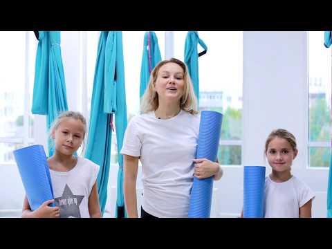 Детская Йога в гамаках. Морское путешествие с Ksenya Fly Yoga.
