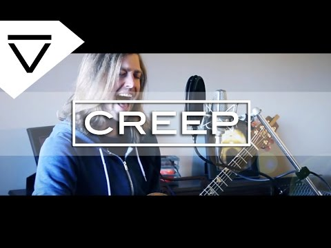 Creep - Radiohead (Acoustic Loop Pedal Cover) With Lyrics!