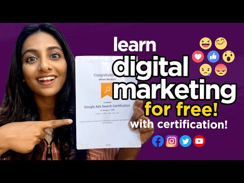 LEARN DIGITAL MARKETING FOR FREE | BEST ONLINE RESOURCES WITH CERTIFICATION