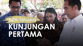 Pengalaman Putri Tanjung, Pertama Kali Ikut Presiden Kunjungan Kerja