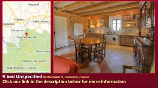 preview picture of video '9-bed Unspecified for Sale in Rochechouart, Limousin, France on frenchlife.biz'
