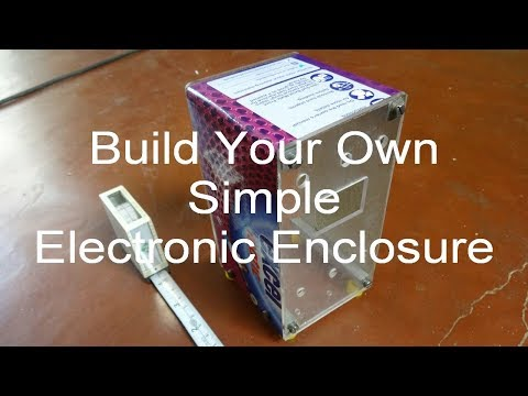 Aj DIY Electronic Enclosure