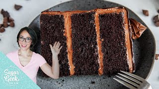 Death By Chocolate Cake - The BEST Chocolate Cake Recipe
