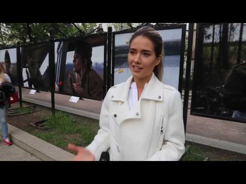 Юля Паршута о выставке #МесяцМай и Бессмертном полке России