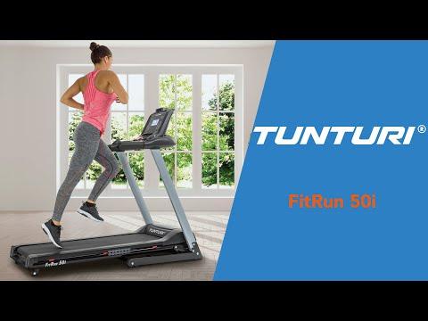 Promovideo: Běžecký pás TUNTURI Fitrun 50i