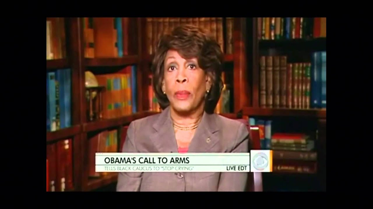 Obama 'Stop Complaining' Ripped By CBC's Waters thumbnail