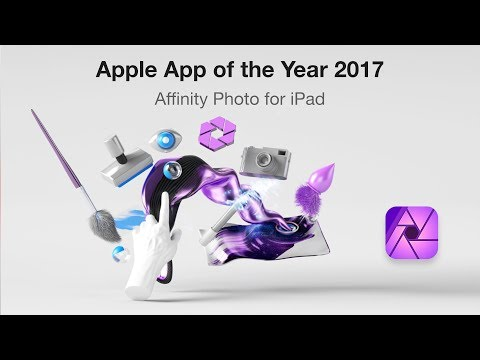 Affinity Photo for iPad wins App of the Year 2017!