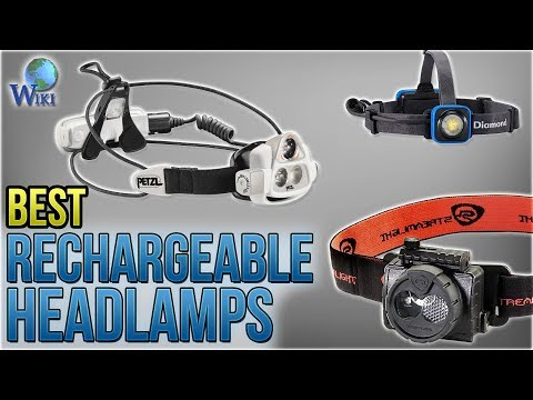 10 Best Rechargeable Headlamps 2018