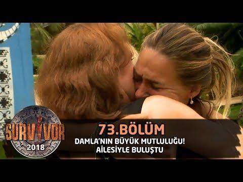 Damla'nın büyük mutluluğu! Ailesiyle buluştu | 73.Bölüm | Survivor 2018 mp3 yukle - Mahni.Biz