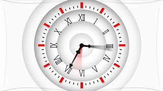 White clock background   corporate background video loop   corporate animated background   Countdown