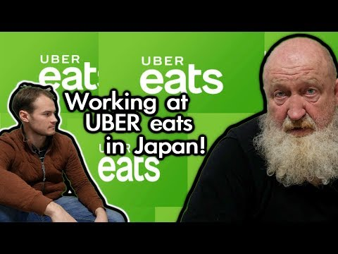 How to work at UBER EATS in Japan