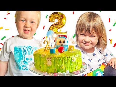 День рождения Карла! Бьянка, Адриан и Маша Капуки дарят подарки. Привет, Бьянка!